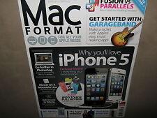 NEW! MAC FORMAT 253 November 2012 iPHONE 5 Garageband Add Music in iMovie