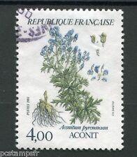 FRANCE - 1983, timbre 2269, FLORE, FLEURS, FLOWERS, ACONIT, oblitéré
