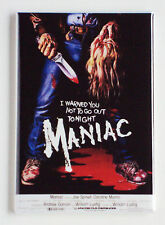 Maniac FRIDGE MAGNET (2 x 3 inches) movie poster horror
