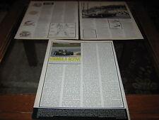 Suspension article inc Citroen DS, 2CV, Hydropneumatic, Wolseley 18/85, Austin