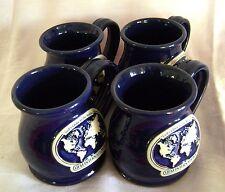 Mugs UFM International Set of 4 Coffee Cups Glory Blue Tea Missionaries Religion