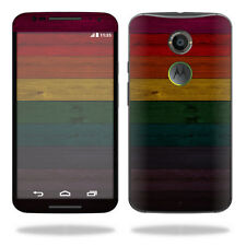 Skin Decal Wrap for Motorola Moto X (2nd Gen 2014) cover Wood Style