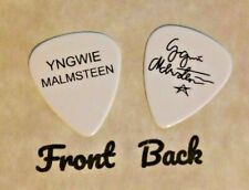 YNGWIE MALMSTEEN tour band logo signature guitar pick  - q
