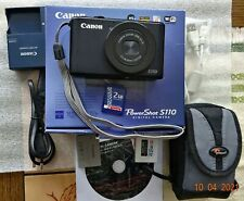 Canon PowerShot S110 12.1 MP Digitalkamera - Schwarz