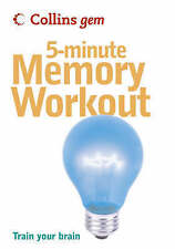 NEW 5-Minute Memory Workout (Collins Gem) by Sean Callery