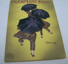 PARAPLUIE-REVEL Paris Umbrella Wall Decor Dimensional Sculpted Art Plaque Resin