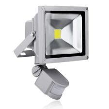 New PIR LED Floodlight Outdoor Garden Floodlight IP65 UK 20W,30W, 50 WATT