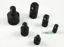 "6 pc Air Impact Socket Reducer Adapter Set 1/4"" 3/8"" 1/2"" 3/4-inch Drive"
