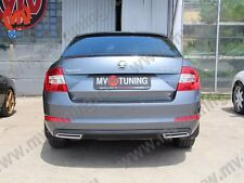MV-Tuning Covers Imitating Exhaust for Skoda Octavia A7 III Painted 2013-2019