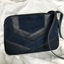 Nat & nin Anita French Leather Bag In Ulysse /navy