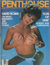 Penthouse Magazine NOVEMBER Issue 1983  David Bowie Son of Sam