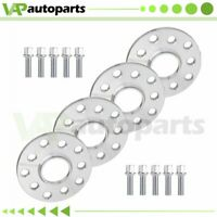 10mm HubCentric 4Pcs Wheel Spacers 5x100&5x112 For VW Golf Jetta Tiguan Audi A8
