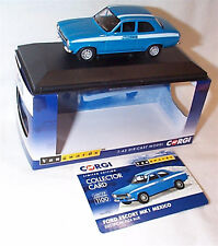 VANGUARDS Ford Escort MK1 Mexicio Electric Monza Blue VA09521 ltd ed