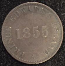 1855 Self Government & Free Trade Token, PE-7 A 1, pg. 13, XF Prince Edw. Isl.