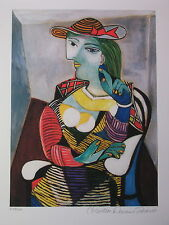 "Picasso ""Portrait of Marie-Therese Walter (Estate Collection Domaine) Ltd Ed"