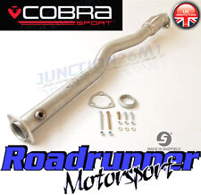 Cobra Sport Astra GSI MK4 2nd De Cat Pipe Exhaust Stainless - Deletes 2nd Cat