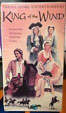 King of the Wind (VHS) 1993 family film stars Richard Harris and Glenda Jackson