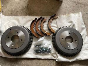 Datsun240/260/280Z Steel Rear Drum Brakes W/brake Shoes And Spring Kit New
