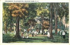 Orange Park New Jersey~Childrens Playground~Swings~Teeter Totter~Mothers~1920s