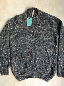 Paul Smith RED EAR Flecked Sweater Grey