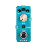 Mooer Audio Ensemble Queen Analog Bass Chorus Guitar Effect Pedal - Brand New!