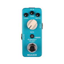 Mooer Audio Ensemble Queen Analog Bass Chorus Guitar Effect Pedal - Brand New!