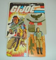 1984 GI Joe Spirit & Freedom Tracker v1 Figure w/ File Card Back *Complete READ*