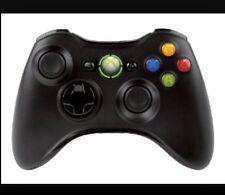 Genuine Microsoft Xbox 360 Controller - Black  Wireless