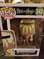 POP! Animation Rick and Morty Hemorrhage #342 NIB