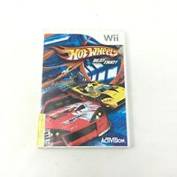 Hot Wheels: Beat That Nintendo Wii, 2007 Car Racing Game w/Manual Tested Working