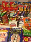 Huge lot of 100 old vintage Baseball Cards in Unopened packs