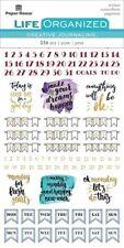 Weekly  Journaling Planner  Stickers Planner  Papercraft Calendar Agenda