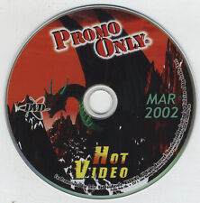 Hot Video March 2002 Dvd - Incubus Rob Zombie Kid Rock Aaliyah Mick Jagger B2K