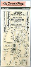 """FREE SHIPPING"" My Favorite Things BIRTHDAY BEARS Stamp Set BB-21 MFT CardMaking"