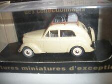Voiture miniature  Renault Juva 4 Berline + Bagages  V2194 1/43