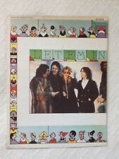 PAUL MCCARTNEY AND WINGS LET 'EM IN SHEET MUSIC - VERY GOOD - 1976