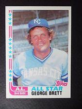 1982 TOPPS GEORGE BRETT ALL STAR BASEBALL CARD #549