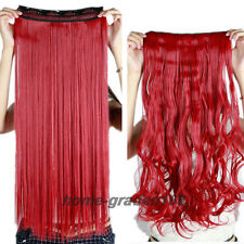 Super Thick 120-200g Full Head Weft Clip in Hair Extensions Long for human HZ29