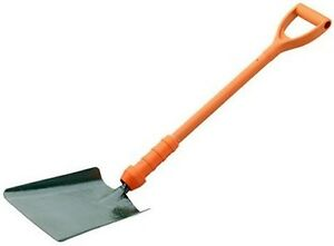 BULLDOG POWERBREAKER INSULATED SQUARE MOUTH SHOVEL - PD5SM2IN HEAVY DUTY YD