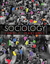 Very Good 0136016456 Hardcover Sociology Macionis, John J.