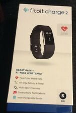 Fitbit Charge 2 Heart Rate & Fitness Wristband - Black-Size Small