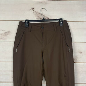 SPYDER Thinsulate Brown Snow Ski Pants Women's Size 6