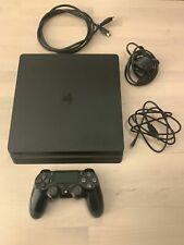 Sony PlayStation 4 Slim 500 Go Noir Console de jeu-Excellent état