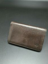 Mulberry Card Case/ Wallet in Chocolate Leather