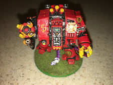 Warhammer 40000 40K Blood Angels Furioso Dreadnought painted 6.5/10 good cond B