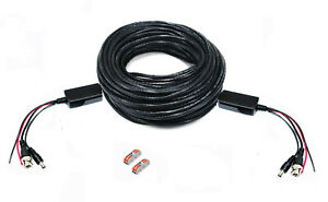 100Ft PTZ Power Video RS-485 Data Control Professional Cable for All PTZ Camera