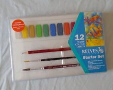 Reeves Watercolor Tablet Painting Starter Set 17 Pieces
