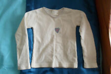 IVORY CORD TOP WITH HEART DETAIL - AGE 2-3 YEARS