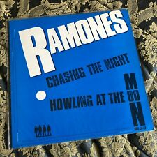 "RAMONES 12"" vinyl CHASING THE NIGHT UK punk MINT LP"
