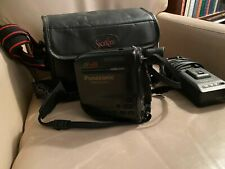 Panasonic Vhs-C- Palmcorder-Afx6- With Battery, Charger and Carry Case